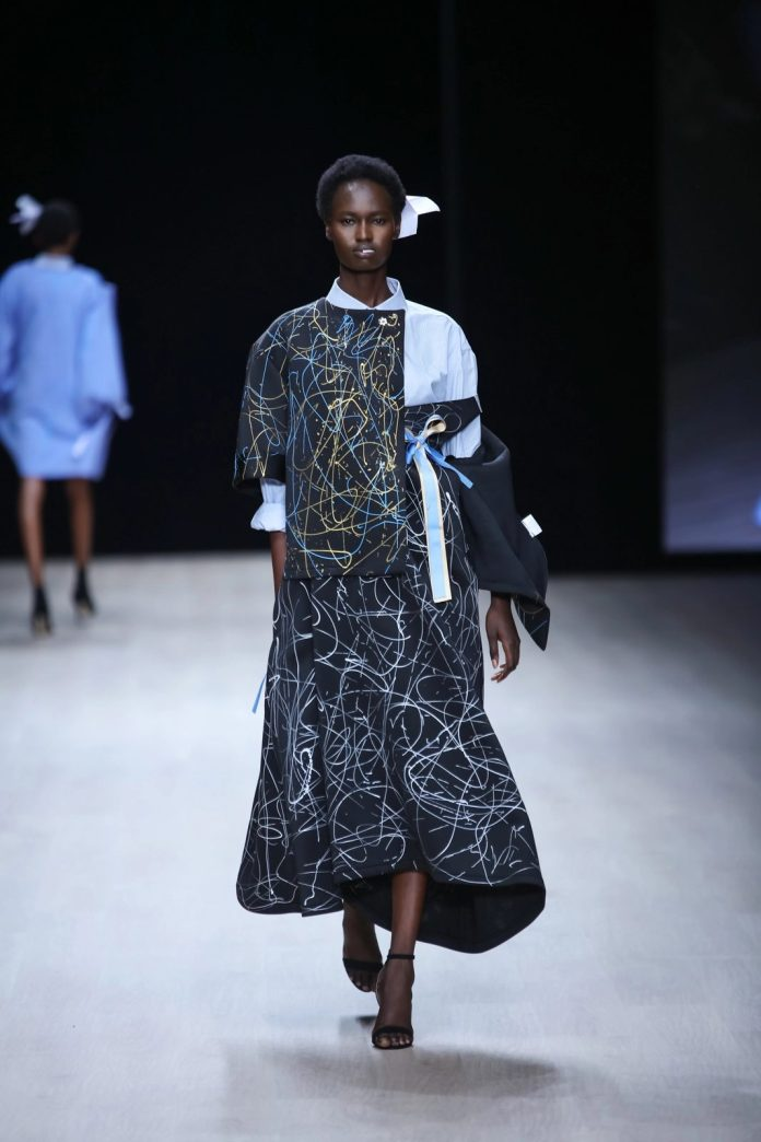 Refreshing! Papa Oppong New Collection At ARISE Fashion Week 2019 9