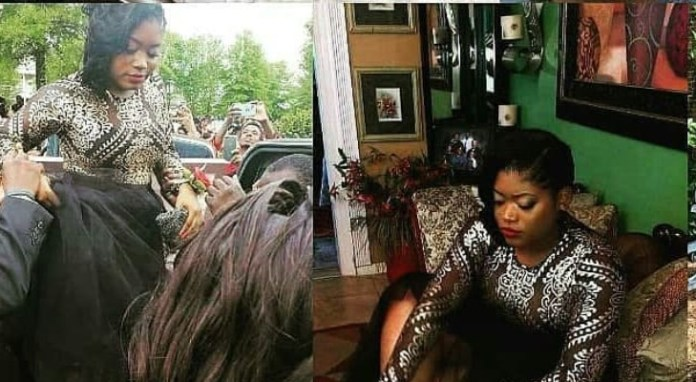 Unbelievable! Lady Goes Viral After Sharing Her Pre-burial Photos 2