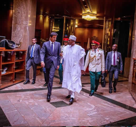 The Insider: Exclusive Photos Of President Buhari Hosting The Emir Of Qatar 7