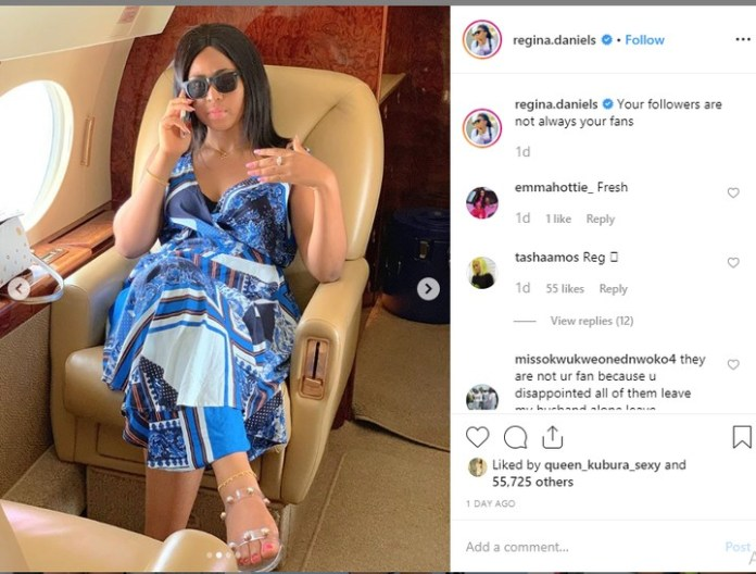 Regina Daniels Flashes 'Ring' Amidst Rumours Of Marriage To Billionaire Ned Nwoko 2