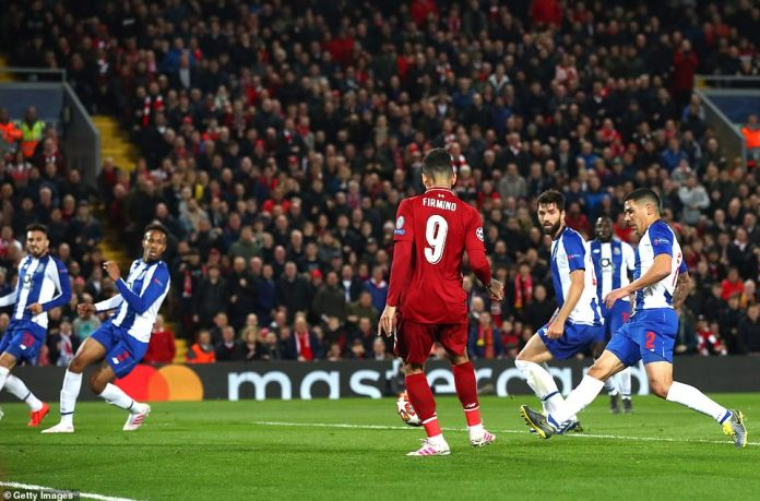 UCL: Liverpool 2 Porto 0; Naby Keita And Roberto Firmino Scores To Give The Kops Advantage 1
