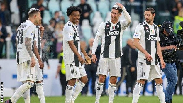 Juventus	2 Fiorentina 1: Cristiano Ronaldo Helps The Old Lady Win Eighth Serie A Title 2