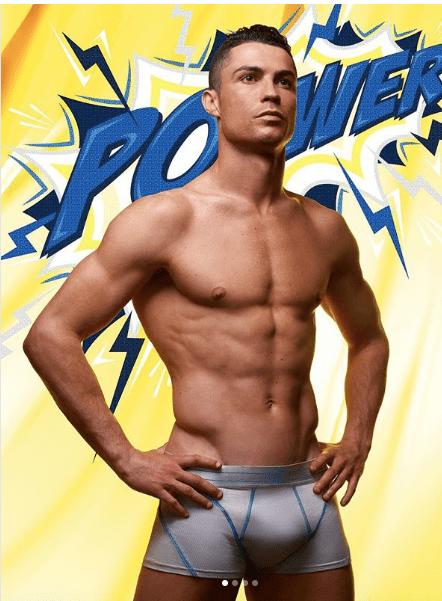 Oh My! Cristiano Ronaldo Showcases Eggplant In New CR7 Underwear Range 1
