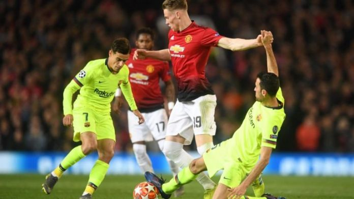 Mourinho Names 'Mad Dog' Manchester United Star That Stopped Barcelona Playing 3