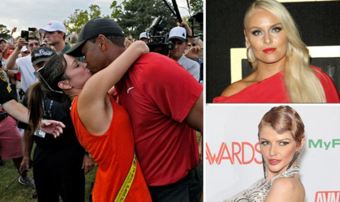 Tiger's Women: Meet The Porn Stars, Waitresses And Cougars That Tiger Woods Have Romped 2