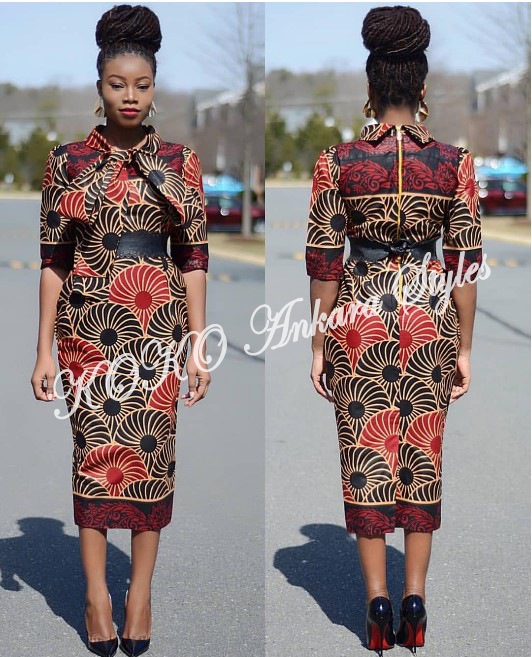 Exquisite And Chic- The Perfect Words To Define These Ten Gorgeous Ankara Styles 7