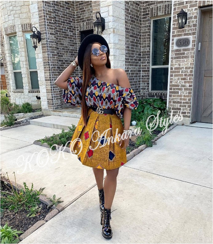 Five Modern Designs That Prove Mix n' Match Ankara Styles Are Still As Gorgeous As Ever 1
