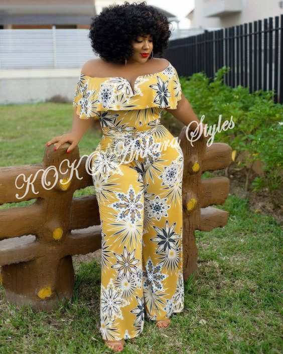 Ten Stunning Ankara Styles That Are Perfect For The Gorgeous Plus-size Lady 5