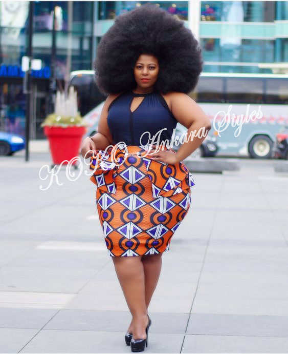 Ten Stunning Ankara Styles That Are Perfect For The Gorgeous Plus-size Lady 8
