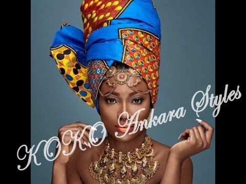 Ankara Styles: Five Eccentric Ankara Headwraps That Are Fashionable And Chic 1