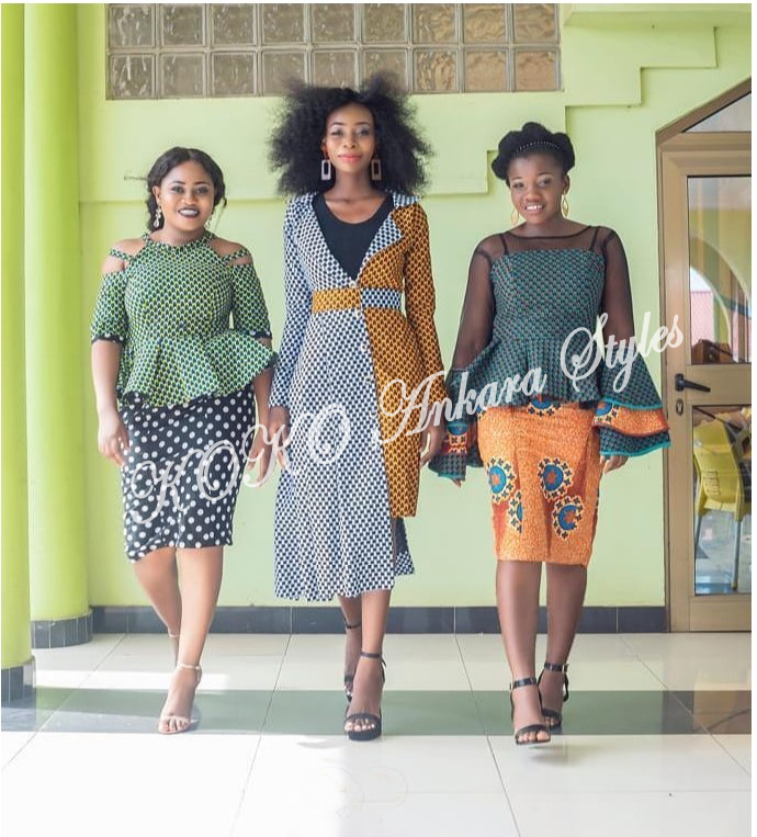 Five Modern Designs That Prove Mix n' Match Ankara Styles Are Still As Gorgeous As Ever 5