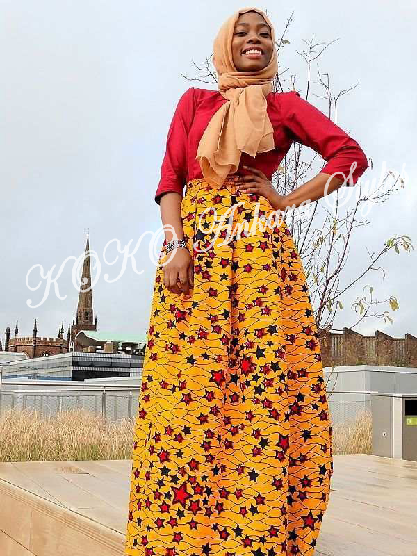 Five Modest Ankara Styles That Are The Perfect Fits For Jummu'ah 2