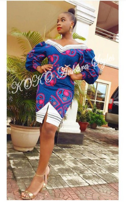 Five Short Ankara Styles That Are Perfect For Weekends 1