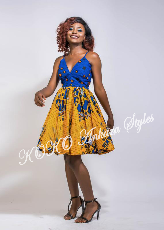 Ten Ankara Styles That Proves That Skater Dresses Are Still As Cool As Ever 2