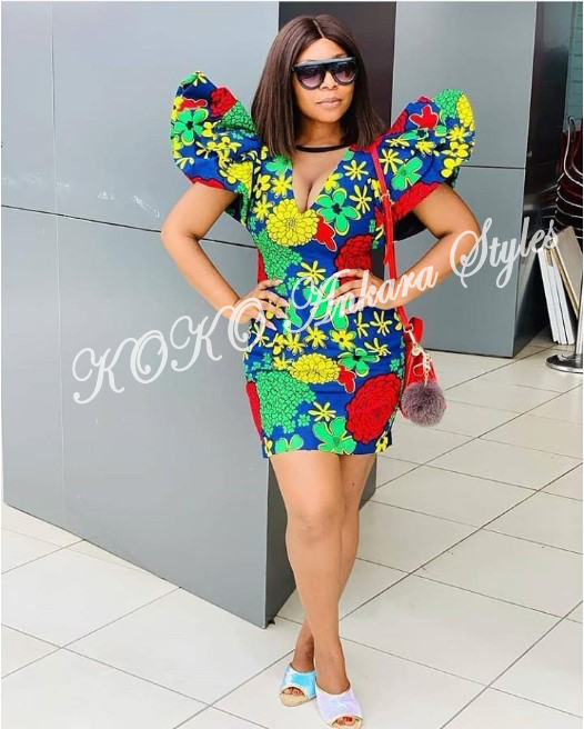 It's All About The Sleeves: Five Ankara Styles With Extremely Gorgeous Statement Sleeves 4