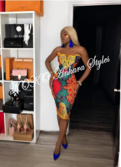 10 Extra Chic Ankara Styles That Would Have All Heads Turning At Your Slay 10