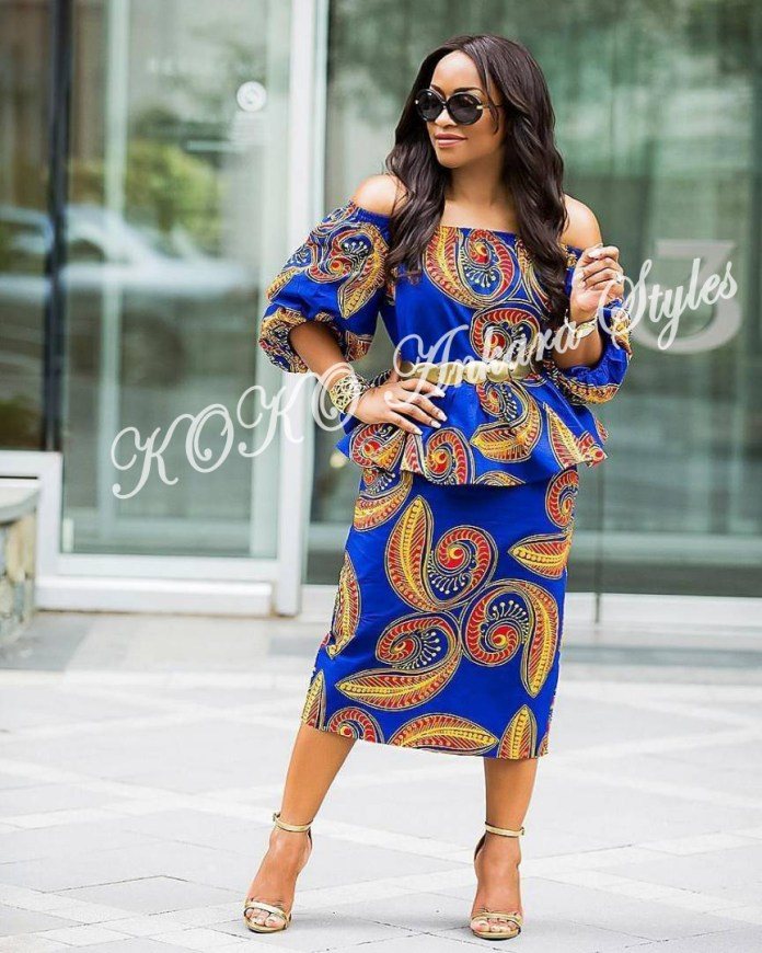 Ankara Styles: These Five Ankara Styles Are The Perfect Definition Of Classy 5