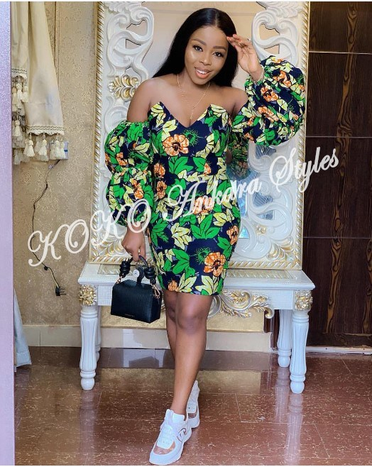It's All About The Sleeves: Five Ankara Styles With Extremely Gorgeous Statement Sleeves 5