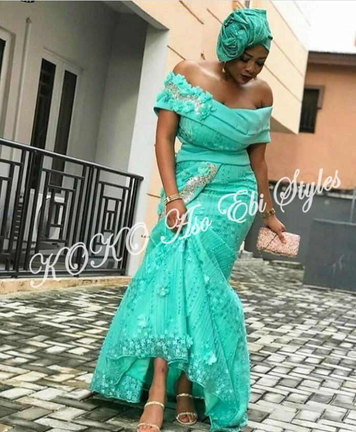 Five Latest Aso-ebi Styles We Absolutely Love And Will Look Great On You 2