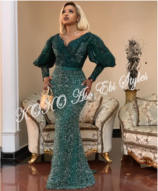 Five Chic Aso-ebi Styles That Will Absolutely Make A Stunning Wedding Guest Style Statement 5