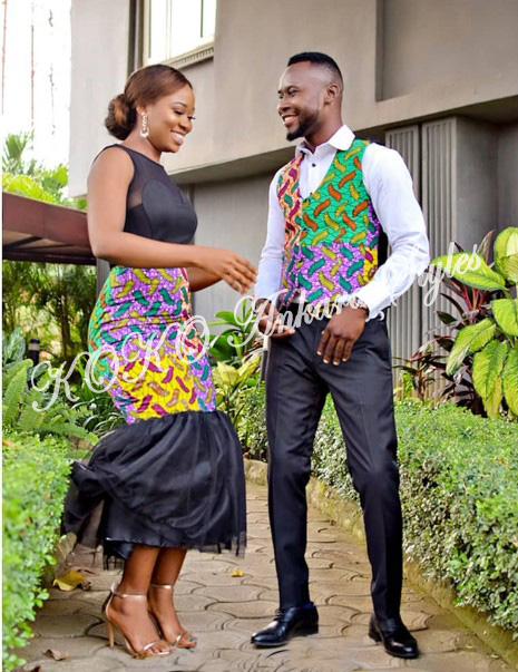 Couple It Up In These 10 Extremely Gorgeous Co-ordinating Ankara Styles 9