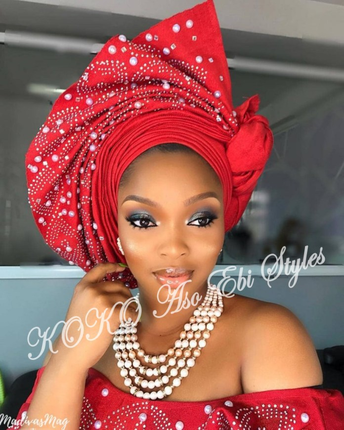 #Onigele! Check Out These Ten Flamboyant And Stunning Gele Styles For Your Next Owanbe 7