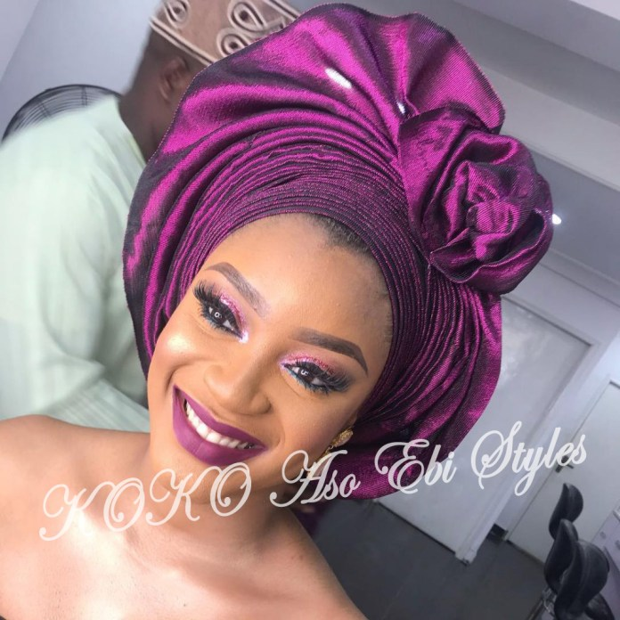 #Onigele! Check Out These Ten Flamboyant And Stunning Gele Styles For Your Next Owanbe 3