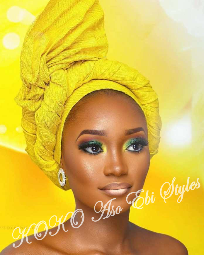 #Onigele! Check Out These Ten Flamboyant And Stunning Gele Styles For Your Next Owanbe 10