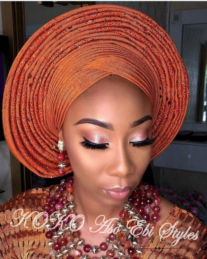 #Onigele! Check Out These Ten Flamboyant And Stunning Gele Styles For Your Next Owanbe 8