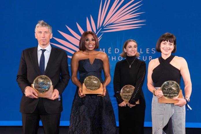 Woman Power! Mo Abudu Bags 2019 Médailles d'Honneur Award at MIPtv In Cannes 2