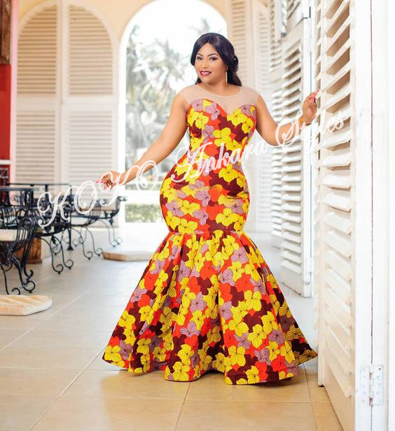 Ankara Styles: Five Sizzling Ankara Styles That Are The Excellent Fit For Curvy Ladies 2