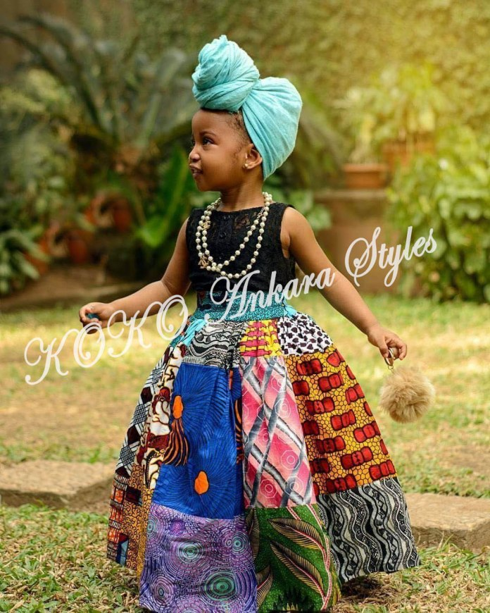 Kiddies Special: Ten Absolutely Adorable Ankara Styles Your Kids Will Look Amazing In! 8