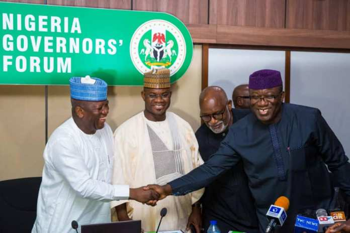 Photos: Kayode Fayemi Elected Nigeria's Governor's Forum Chairman {NGF} 8