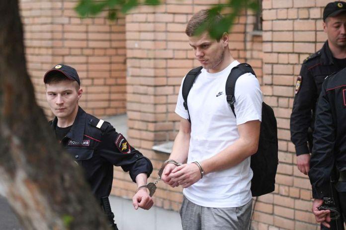 Jailed Russia International Aleksandr Kokorin Set To Receive A League Winners' Medal With Zenit St Petersburg 2