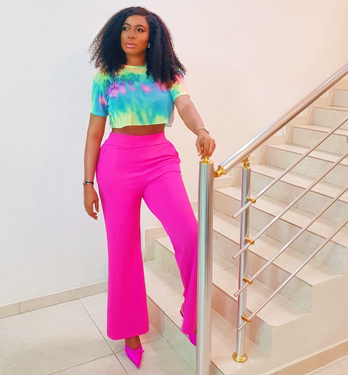 Style Stalking: Chika Ike Slays Beautifully In A Pink Ensemble 1