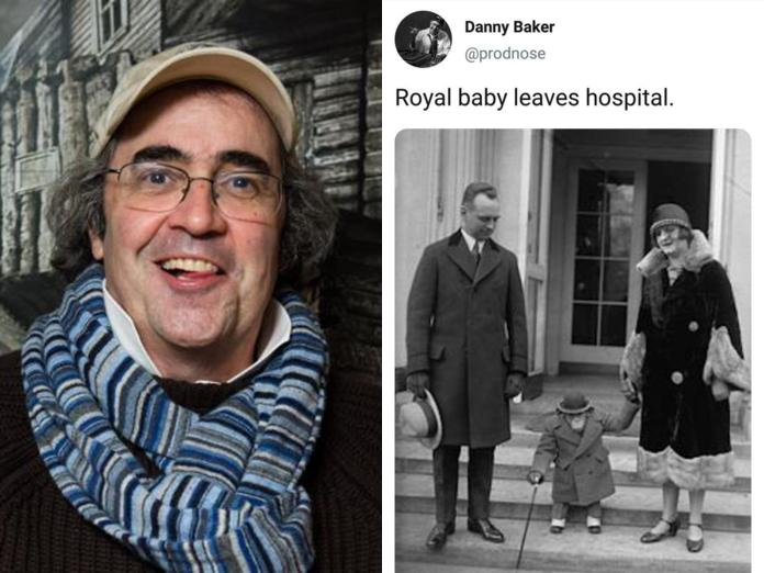 BBC Presenter Tweets Picture Of A Monkey To Depicts Royal Baby Arrival 3
