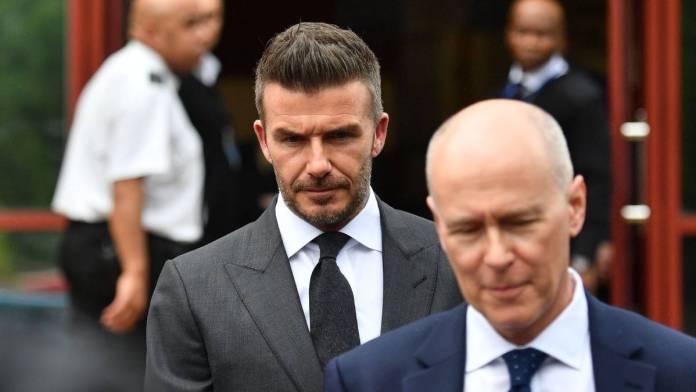 David Beckham Handed 6-Months Driving Ban 2