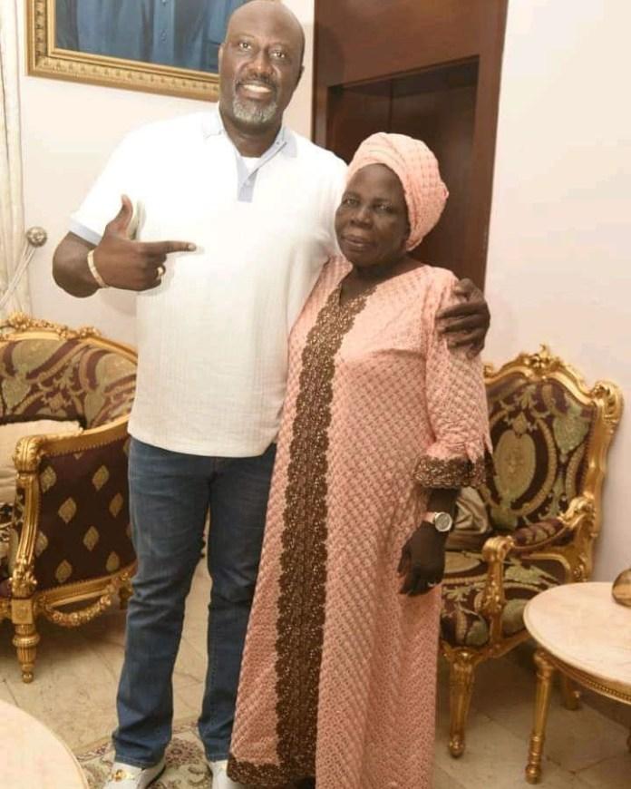 RIP! Senator Dino Melaye Loses His Mother 2