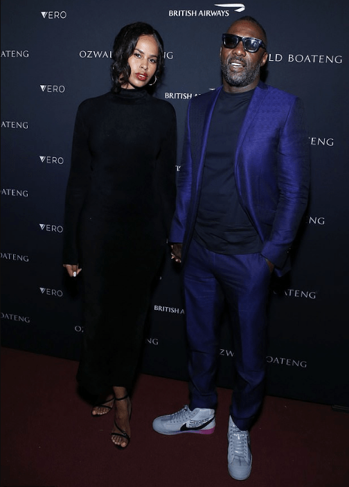See Moment Idris Elba And Sabrina Dhowre Stepped Out For The First Time As Husband And Wife 3