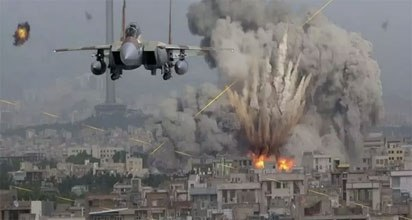Just In: Israeli War Fighter Jets Strike Gaza 2