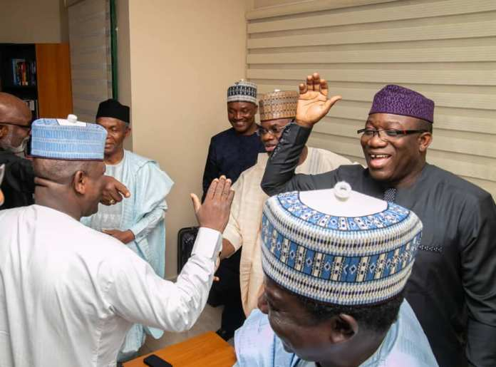 Photos: Kayode Fayemi Elected Nigeria's Governor's Forum Chairman {NGF} 4