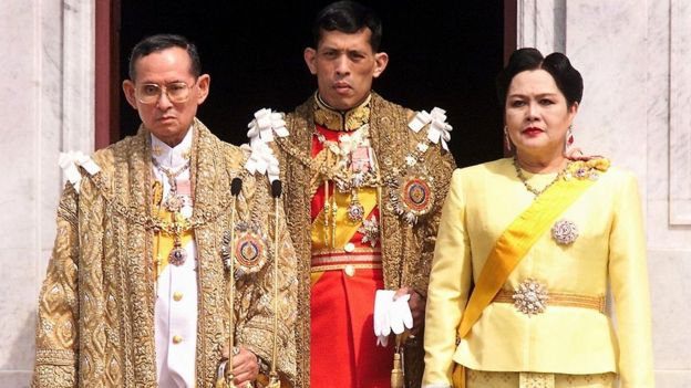 Thailand's King Maha Vajiralongkorn Crowned 4
