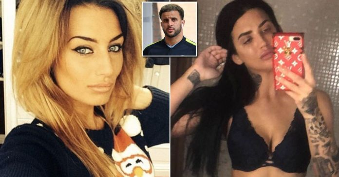 Footballer Kyle Walker Dumped After Romping With Reality TV Star Laura Brown In The Back Of His £200K Bentley 1