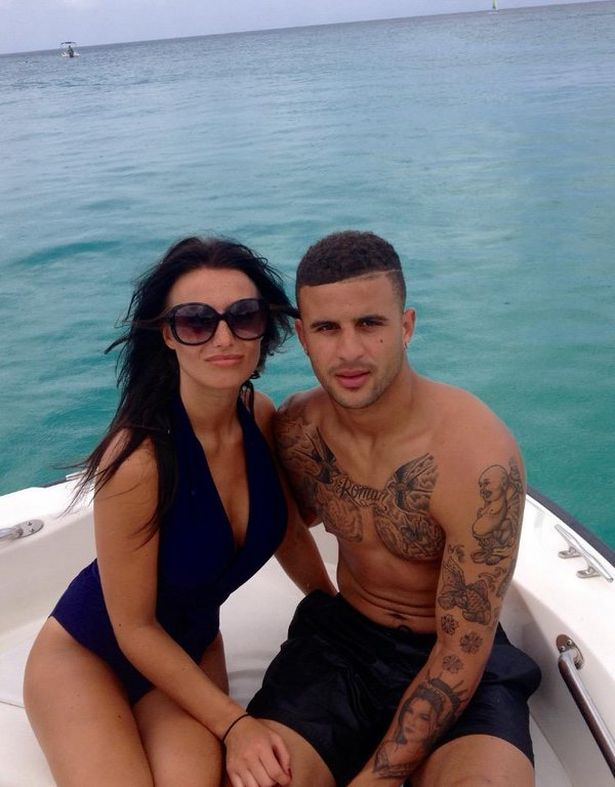 Footballer Kyle Walker Dumped After Romping With Reality TV Star Laura Brown In The Back Of His £200K Bentley 3
