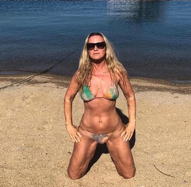 OMG! Meg Mathews, 53, Shows Off Her Figure In A Very Tiny Bikini 1