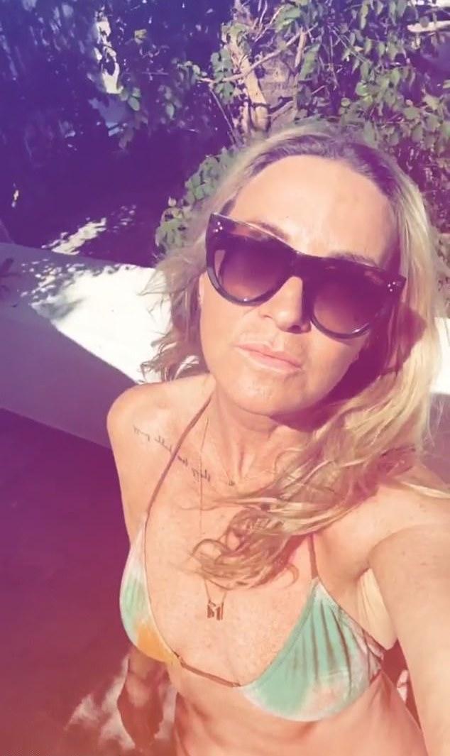 OMG! Meg Mathews, 53, Shows Off Her Figure In A Very Tiny Bikini 2
