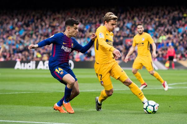 Griezmann Won't Replace Coutinho, Says Agent 1