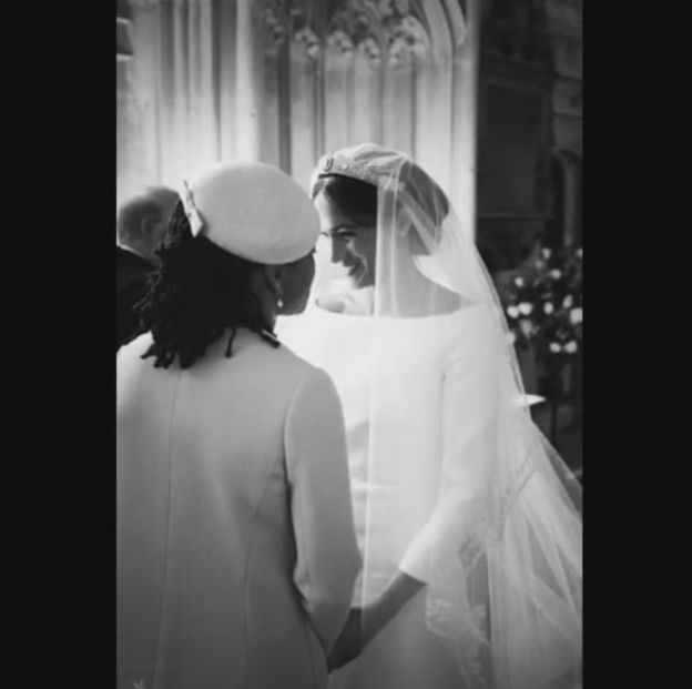 Prince Harry and Meghan Markle Mark First Anniversary With Stunning Behind The Wedding Photos 1