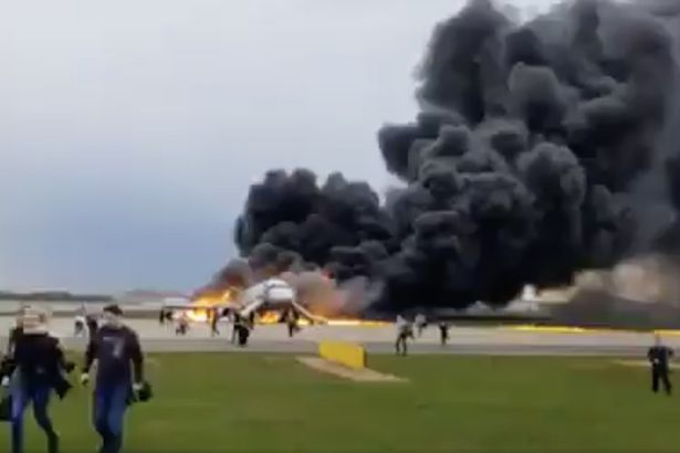 Russia Plane Disaster: 41 Dead As Burning Aeroflot Plane Makes Emergency Landing In Moscow 2