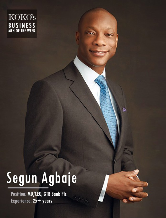 KOKO's Men Of The Week: The Top 6 Coolest MD/CEO's Of Nigerian Banks 5